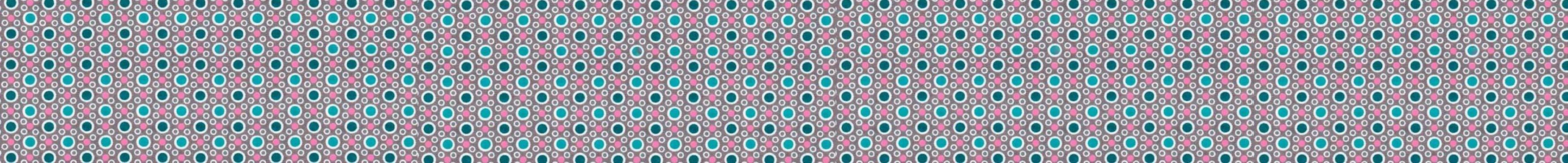 points bleux et rose plus fine