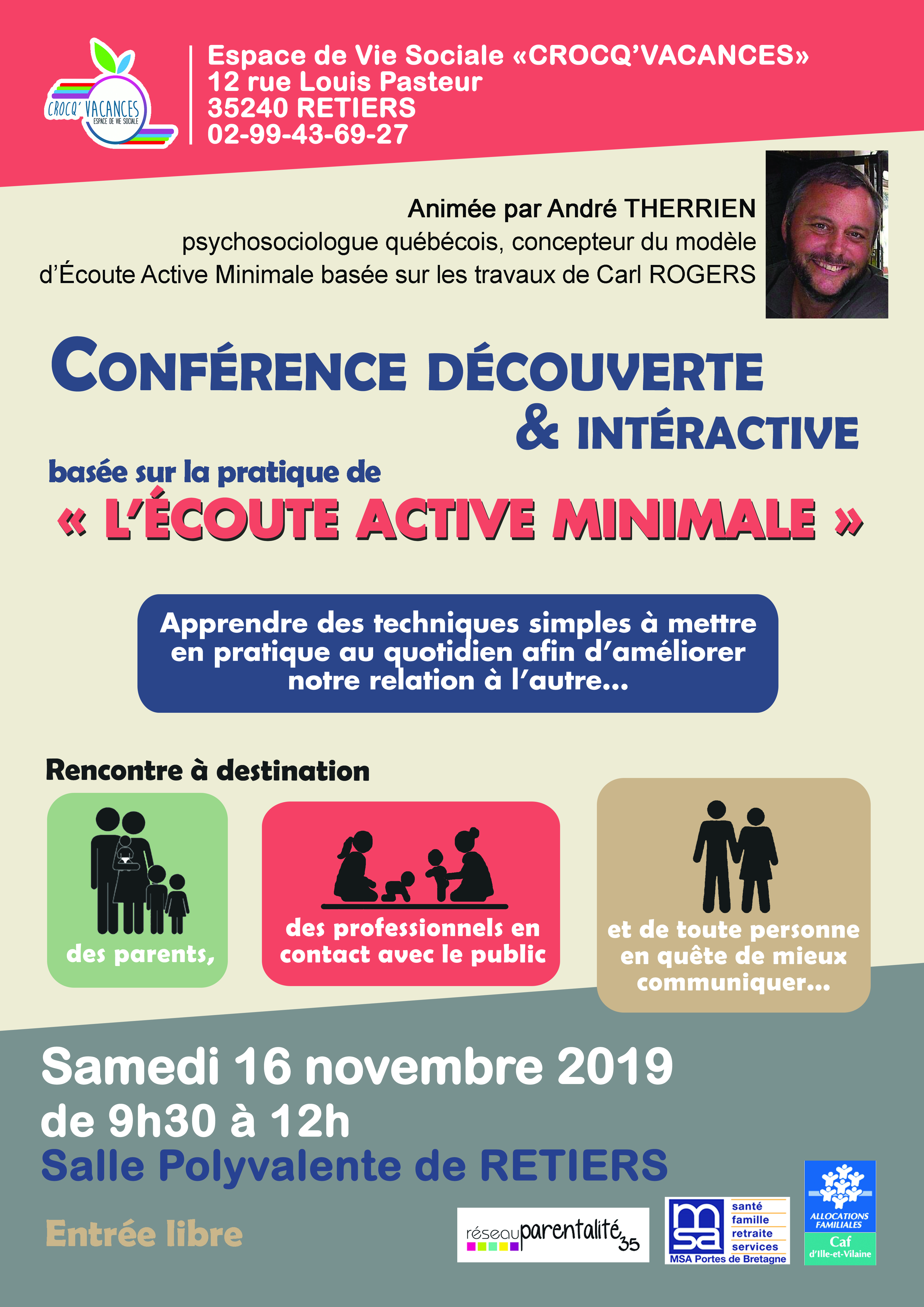 Conférence André THERRIEN